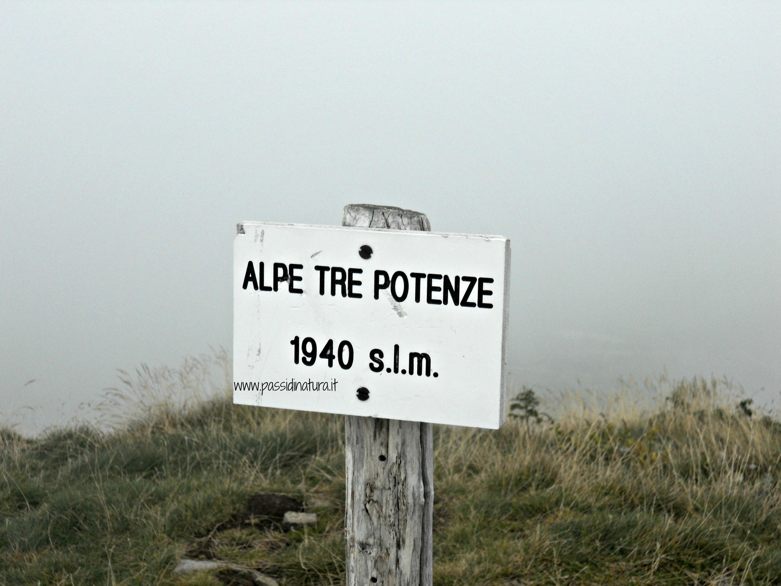L'Alpe delle Tre Potenze