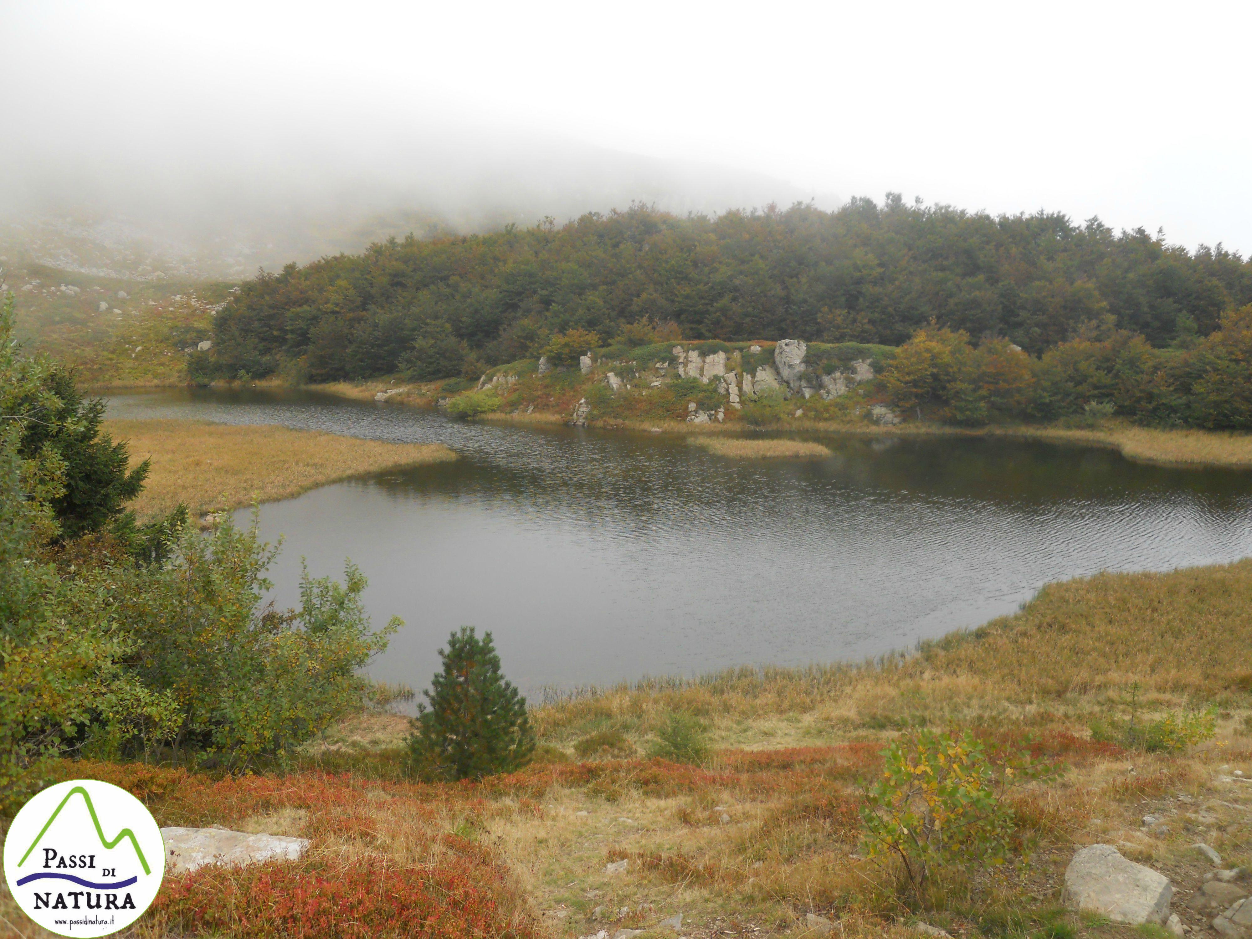 Il Lago Nero e la foce di Campolino