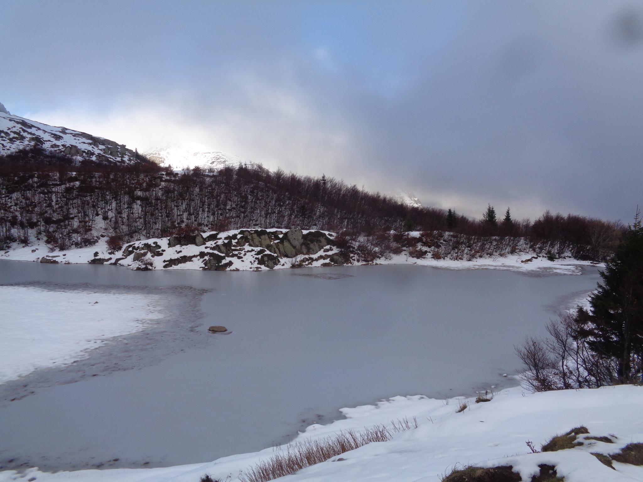 Ciaspolando fino al Lago Nero