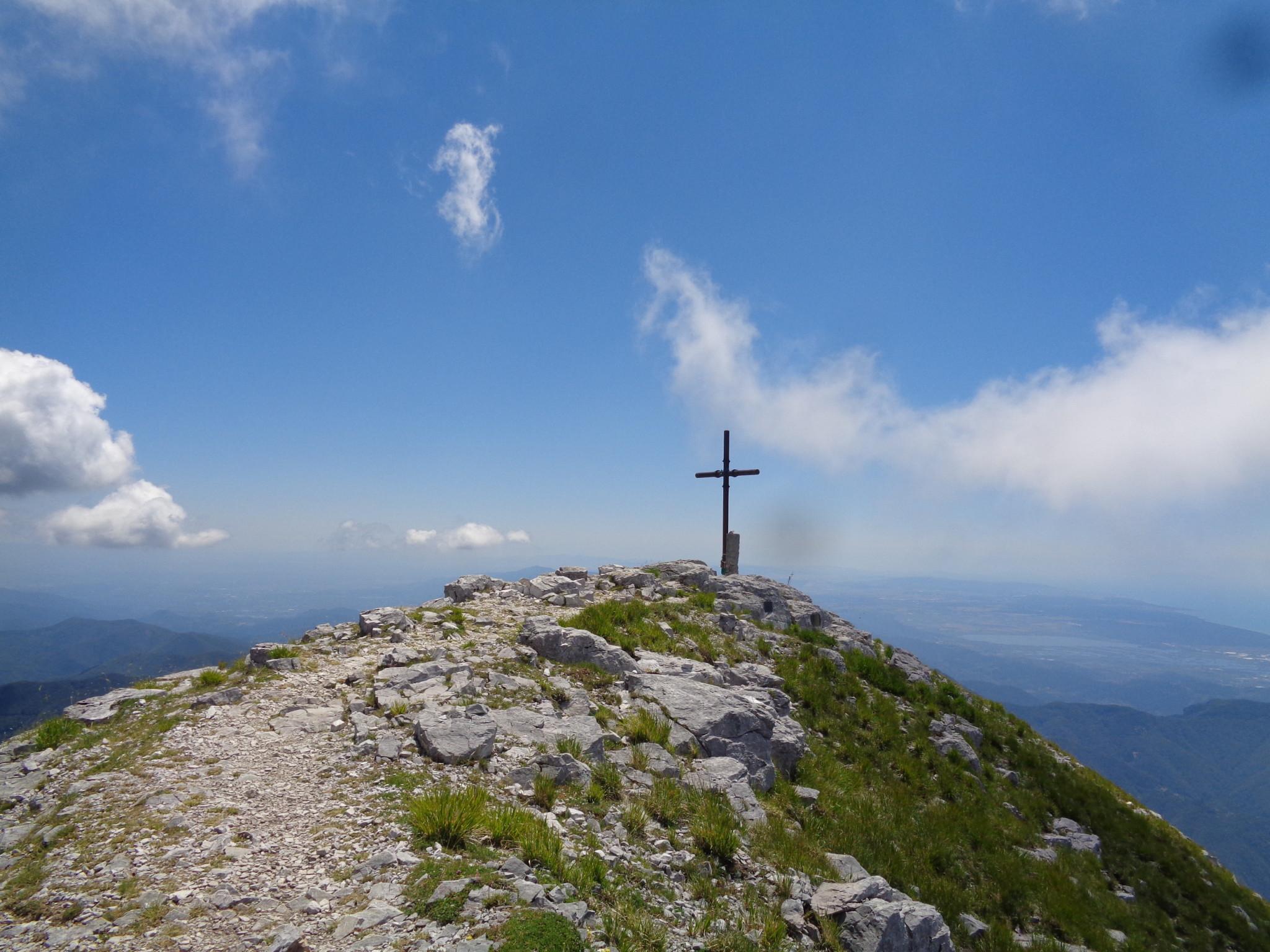In Vetta alla Pania della Croce
