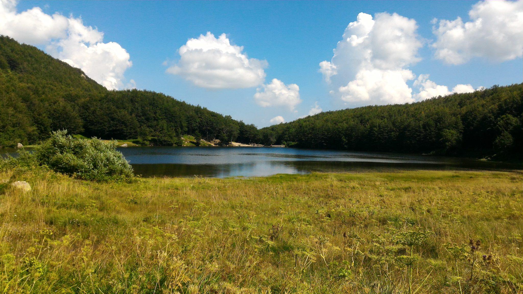 Santo, Baccio e Turchino: autunno sui laghi
