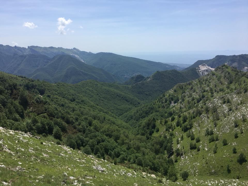 Colonnata: le montagne ed i sapori d'autunno.